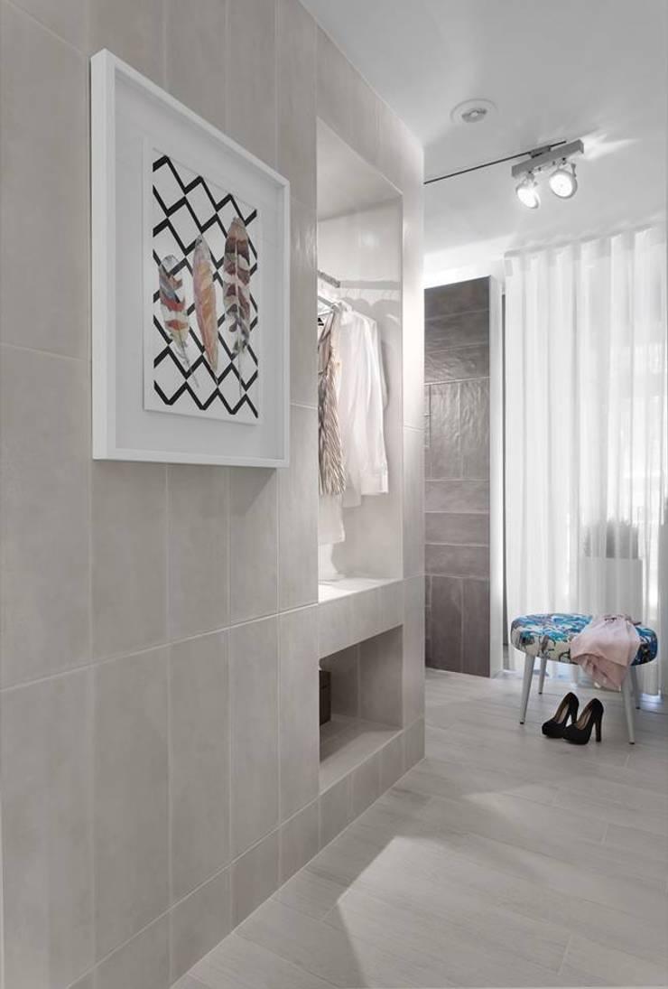 BE – Loft: Casas de banho  por Ana Rita Soares- Design de Interiores