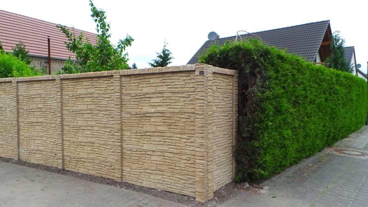 Projekty,  Ogród zaprojektowane przez Triumph-Zaunsysteme