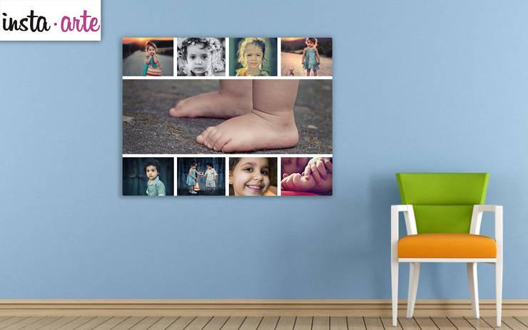 Impresíon en lienzo : Hogar de estilo  por Arte&Fotos.mx