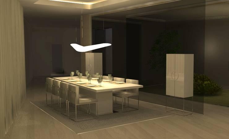 DJ House: Casas  por Santiago | Interior Design Studio