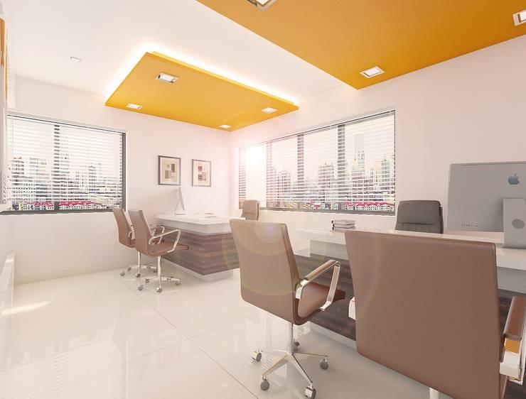 Executive Desk:   by Squaare Interior