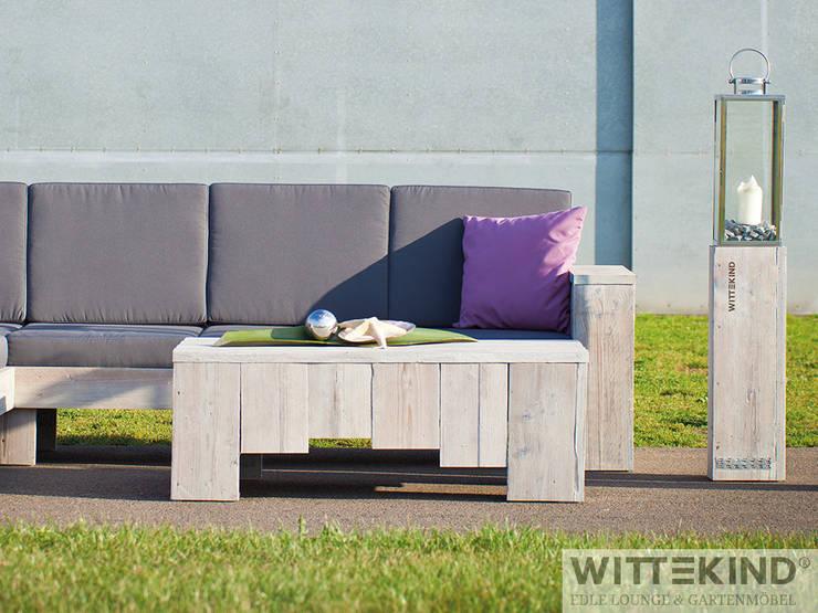 Balcones y terrazas de estilo  por Wittekind Möbel UG (haftungsbeschränkt)