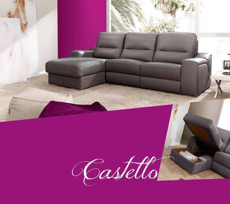 CHEISLONG MOD. CASTELLO: Salones de estilo  de LA CANTARERIA MUEBLES Y DECORACION