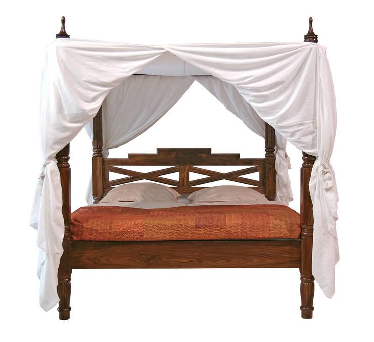 Himmelbett:  Schlafzimmer von Indien-Haus