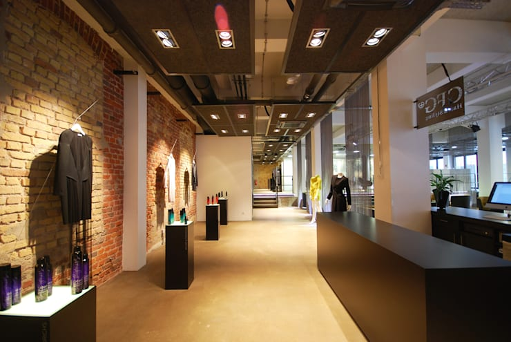 Verkaufsbereich:  Geschäftsräume & Stores von INNEN LEBEN,Industrial
