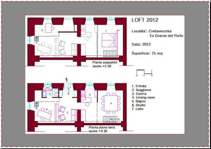 Loft 012:  in stile  di PLC Studio