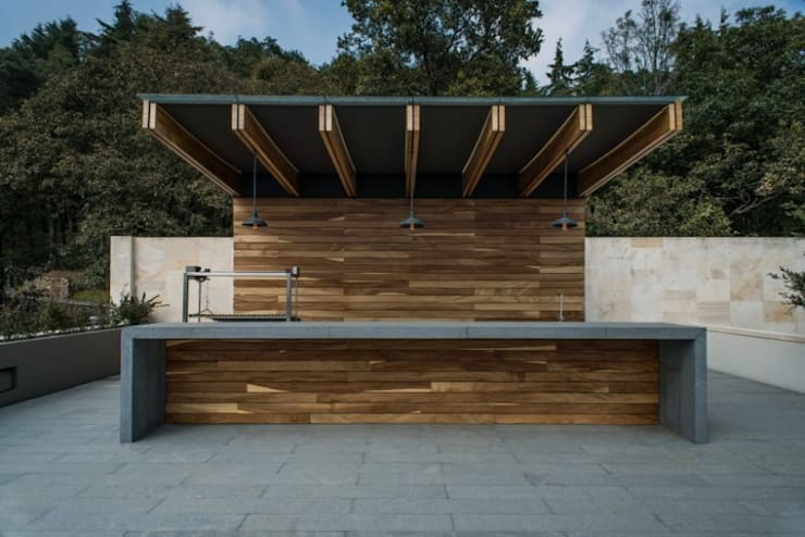 Roof Garden Barra:  de estilo  por Rhyzoma - Arquitectura y Diseño