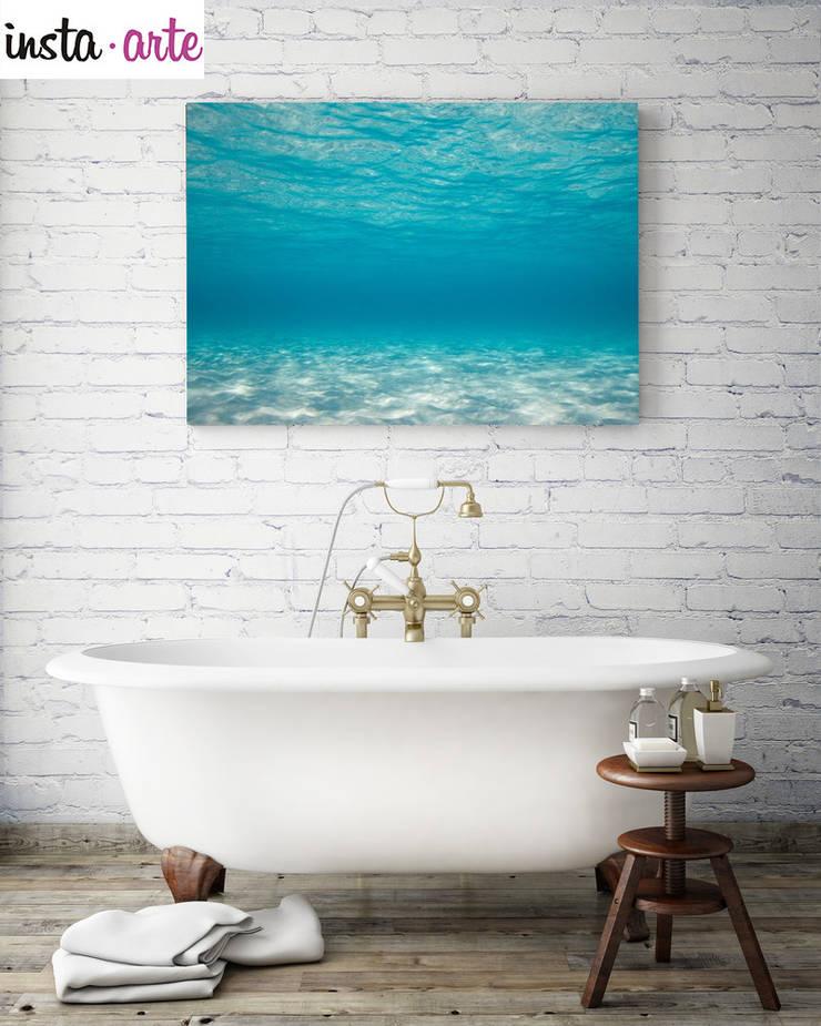 Para el baño: Hogar de estilo  por Arte&Fotos.mx