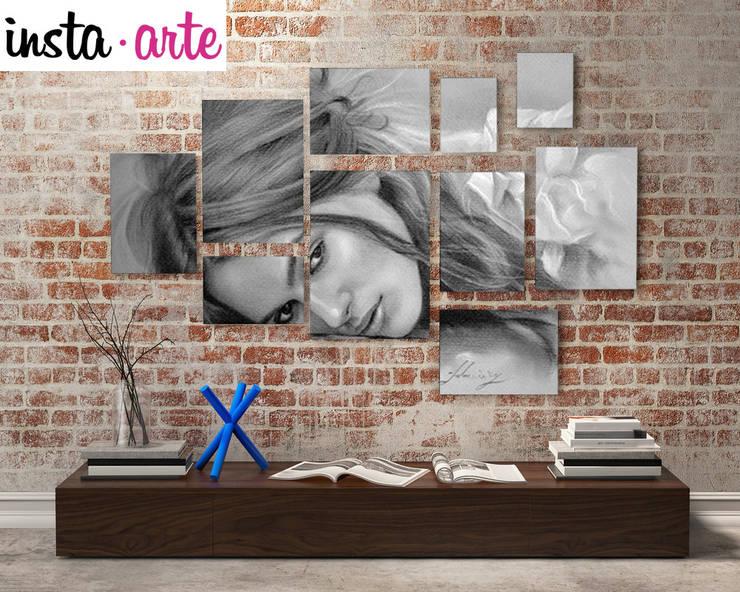 Decoración: Oficinas y tiendas de estilo  por Arte&Fotos.mx