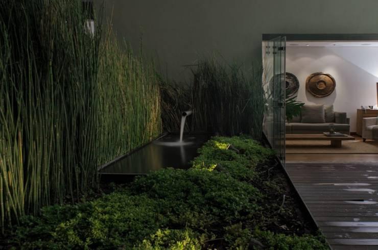 Jardin: Hogar de estilo  por Rhyzoma - Arquitectura y Diseño