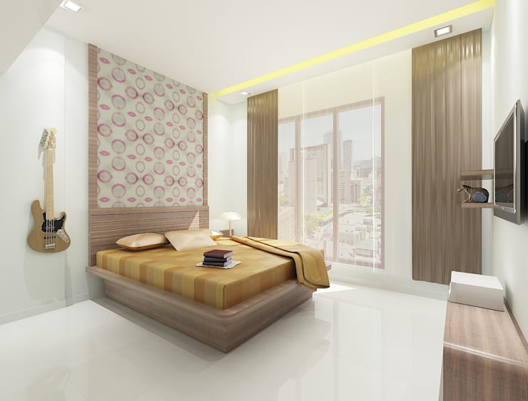 Children's bedroom:  Houses by Squaare Interior