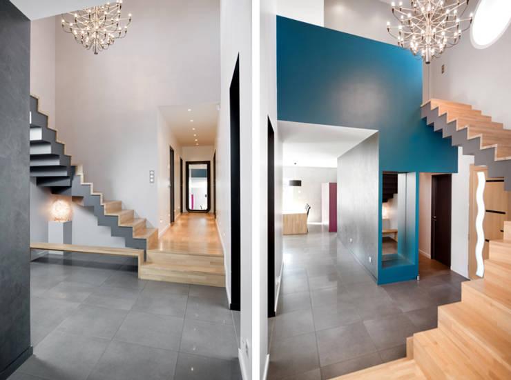 Living room by Marion Lanoë Architecte d'Intérieur
