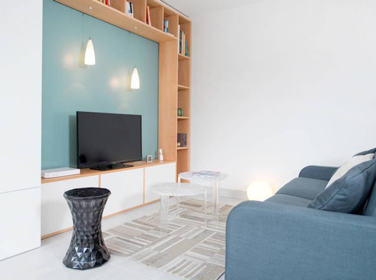 Appartement à Caluire: Cuisine de style  par Marion Lanoë Architecte d'Intérieur