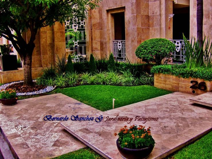 Jardines de estilo moderno por NATURA
