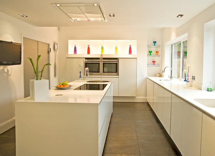 MR & MRS WAGMAN'S KITCHEN:  Kitchen by Diane Berry Kitchens