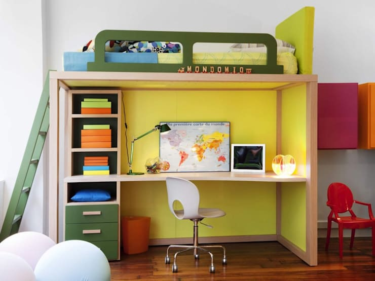 Cuartos infantiles de estilo  por MOBIMIO - Räume für Kinder