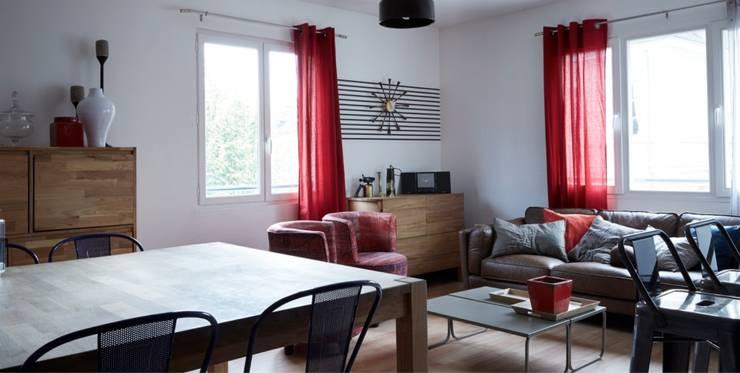 salle de séjour:  de style  par Soraya Deffar / Un Pretexte
