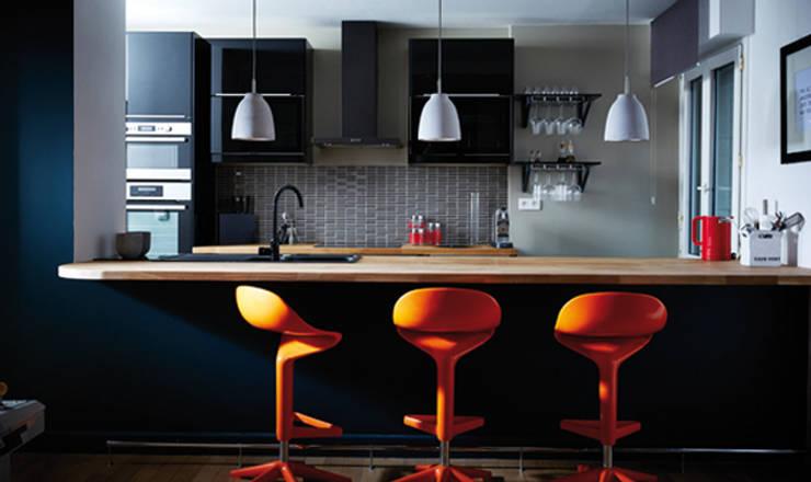 Cuisine Américaine Design:  de style  par Soraya Deffar / Un Pretexte