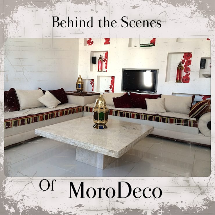 Moroccan Bolster sofa:   by MoroDeco.Ltd