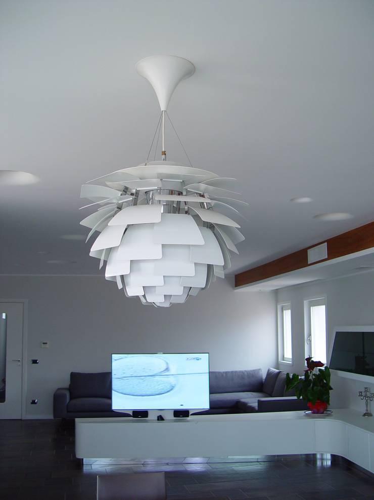 Casa del Capitano: Soggiorno in stile  di Stefano Costantino Architetto