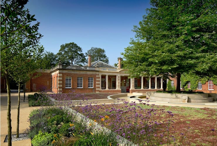 Wellington College Berkshire:  Schools by Viridian Landscape Studio