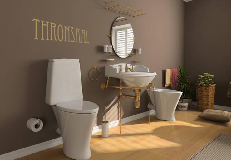 Wandtattoo Thronsaal :  Badezimmer von K&L Wall Art