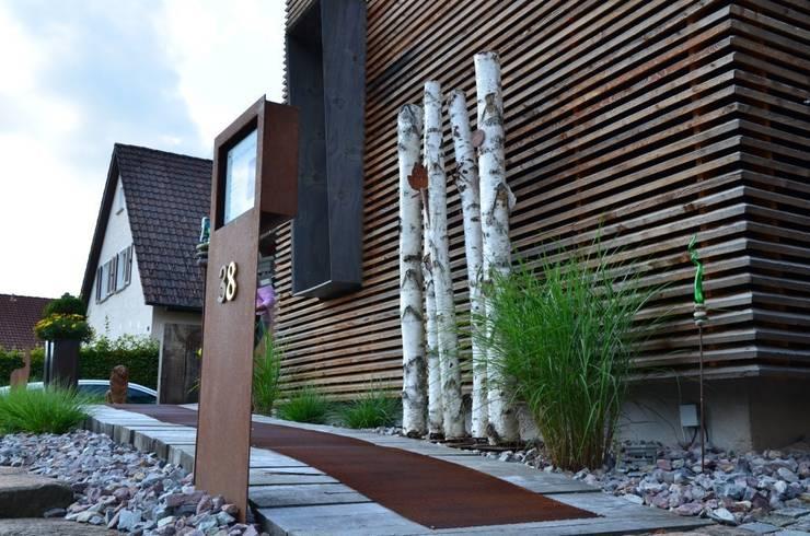 Gleisbau Zugang arché techné néos: ausgefallene Häuser von arché techné néos