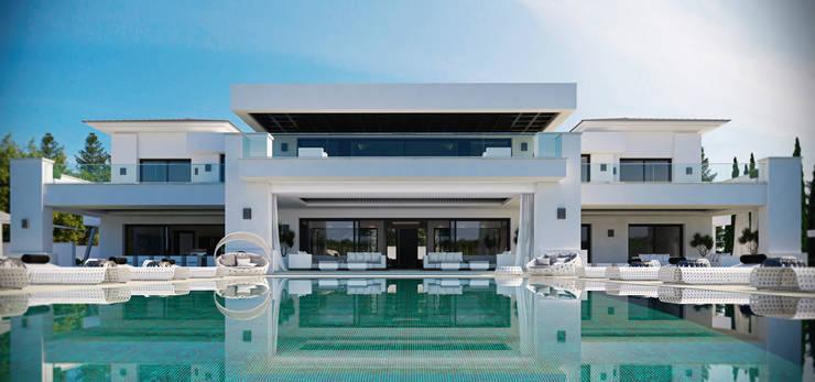 Giardino in stile in stile Moderno di Ark Arquitectos