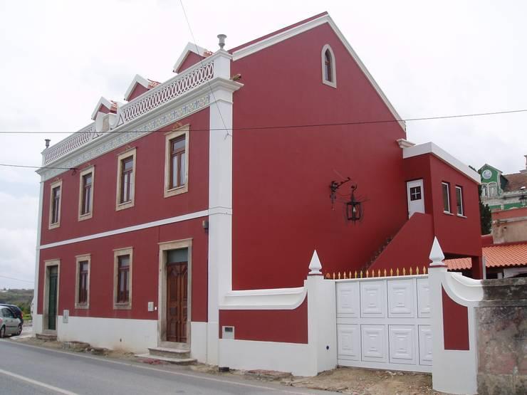 Fachada Lateral 2 (Despues):  de estilo  de a2g.arquitectura