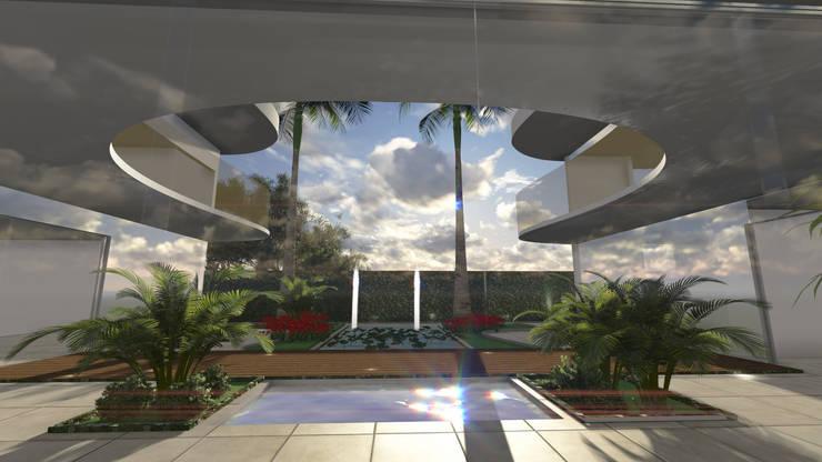 Urban Spa:   por Deborah Iachinski Arquitetura & Interiores,Moderno