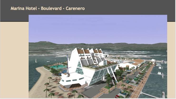 Hotel - Boulevard - Playa: Yates y jets de estilo  de CADOT