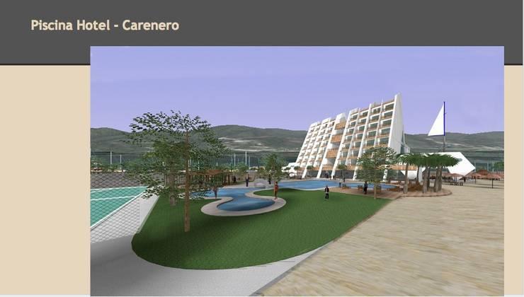 Piscina Hotel: Yates y jets de estilo  de CADOT