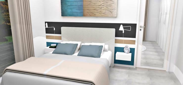 Conception de chambres: Chambre de style de style Moderne par HanaK Décoration