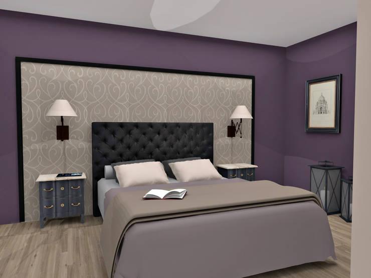 Conception de chambres: Chambre de style de style eclectique par HanaK Décoration