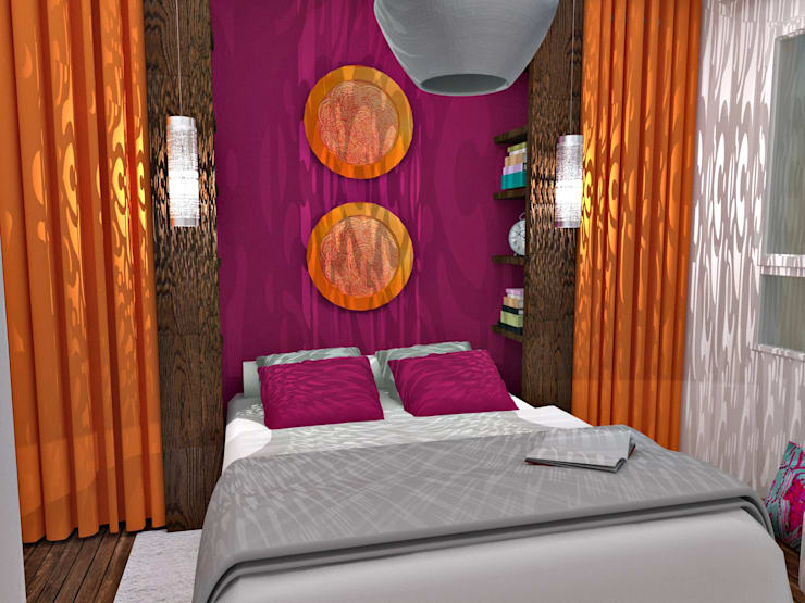 Schlafzimmer von HanaK Décoration
