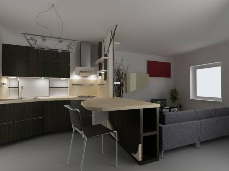 Kitchen: Cucina in stile  di Giuseppe Staglianò Architects