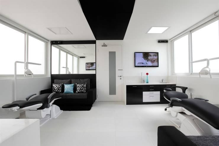 The Clinic Upstairs:  Clinics by LIJO.RENY.architects