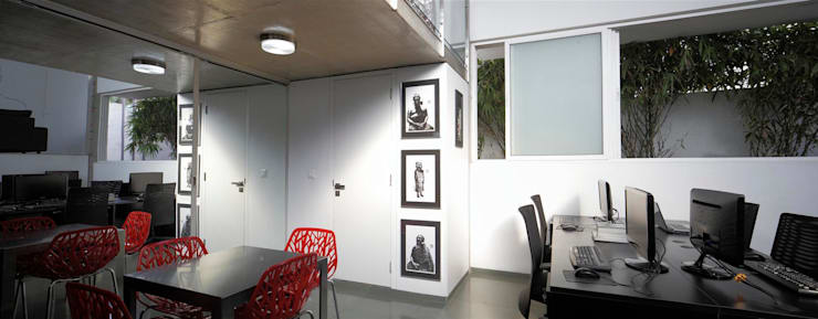Our Office Downstairs:  Office buildings by LIJO.RENY.architects