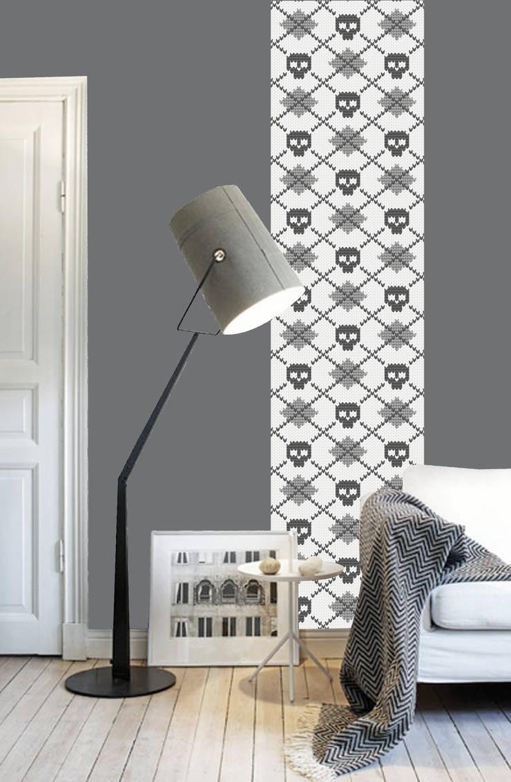 Lés uniques: Chambre de style de style Classique par Lé Papiers de Ninon