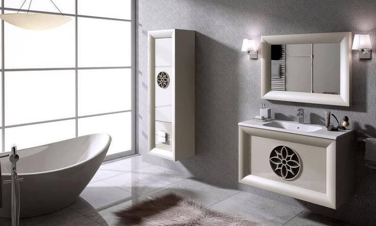 BAÑOS: Baños de estilo  de Muebles Carlos Pastor