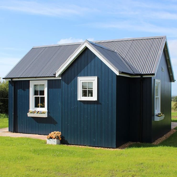 One Bedroom Wee House Exterior:   by The Wee House Company