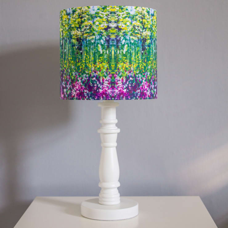 Painting Lampshade:  Living room by Lomas & Lomas