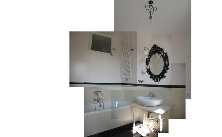appartamento A: Case in stile  di Alessandra Meacci Architetto