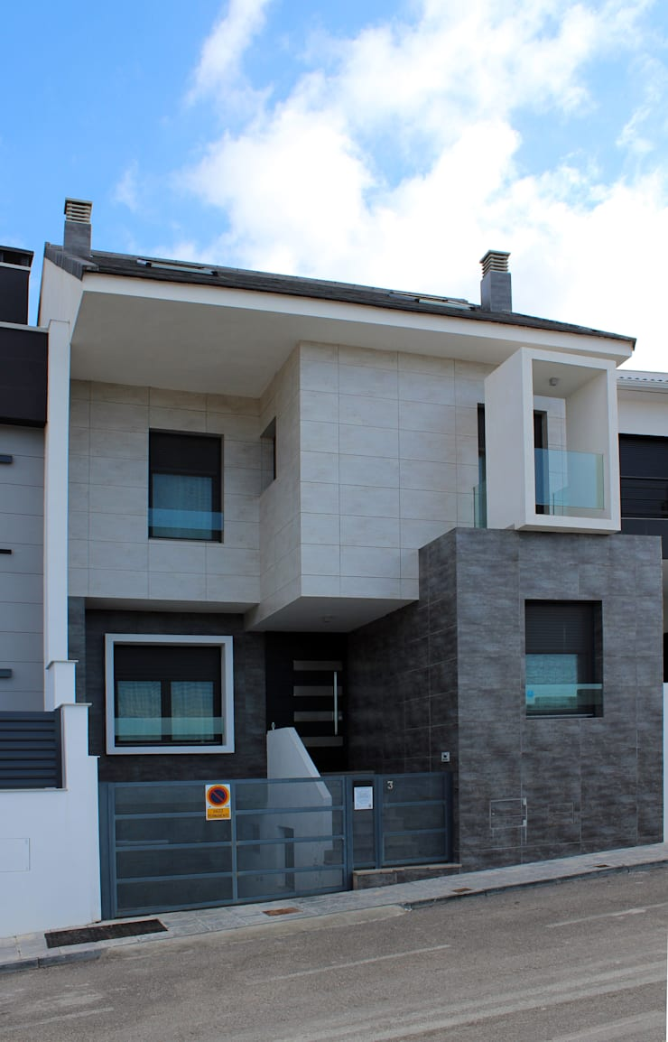 VIVIENDA UNIFAMILIAR LM: Arte de estilo  de forma2arquitectos
