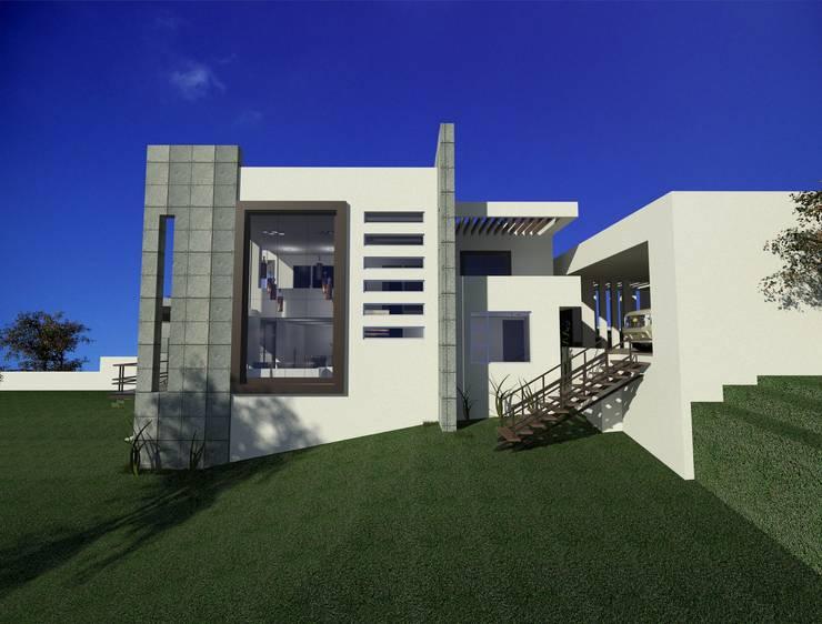 casa Espiritu Santo: Casas de estilo  por CESAR MONCADA S