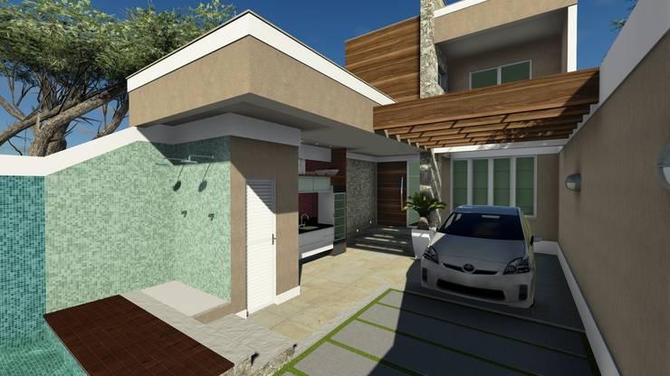 Casa Itaipú:   por VS Arquitetura,Moderno
