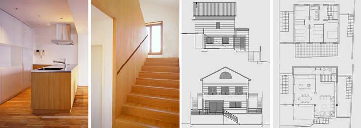 Rehabilitación de vivienda unifamiliar: Casas de estilo  de jjdelgado arquitectura