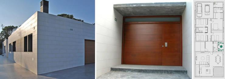 Vivienda en una planta: Casas de estilo  de jjdelgado arquitectura