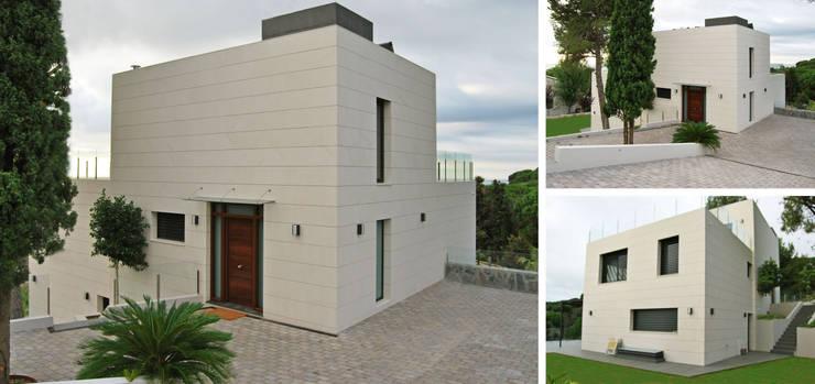 Vivienda unifamiliar energéticamente autosuficiente: Casas de estilo  de jjdelgado arquitectura