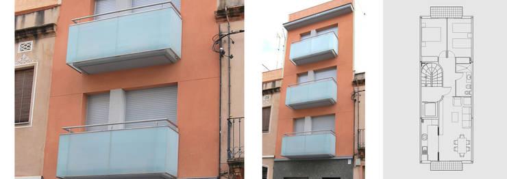 Reforma de edificio plurifamiliar: Casas de estilo  de jjdelgado arquitectura